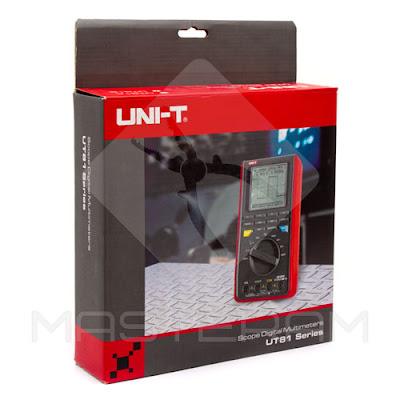 Упаковка осциллографа-мультиметра UNI-T UT81B