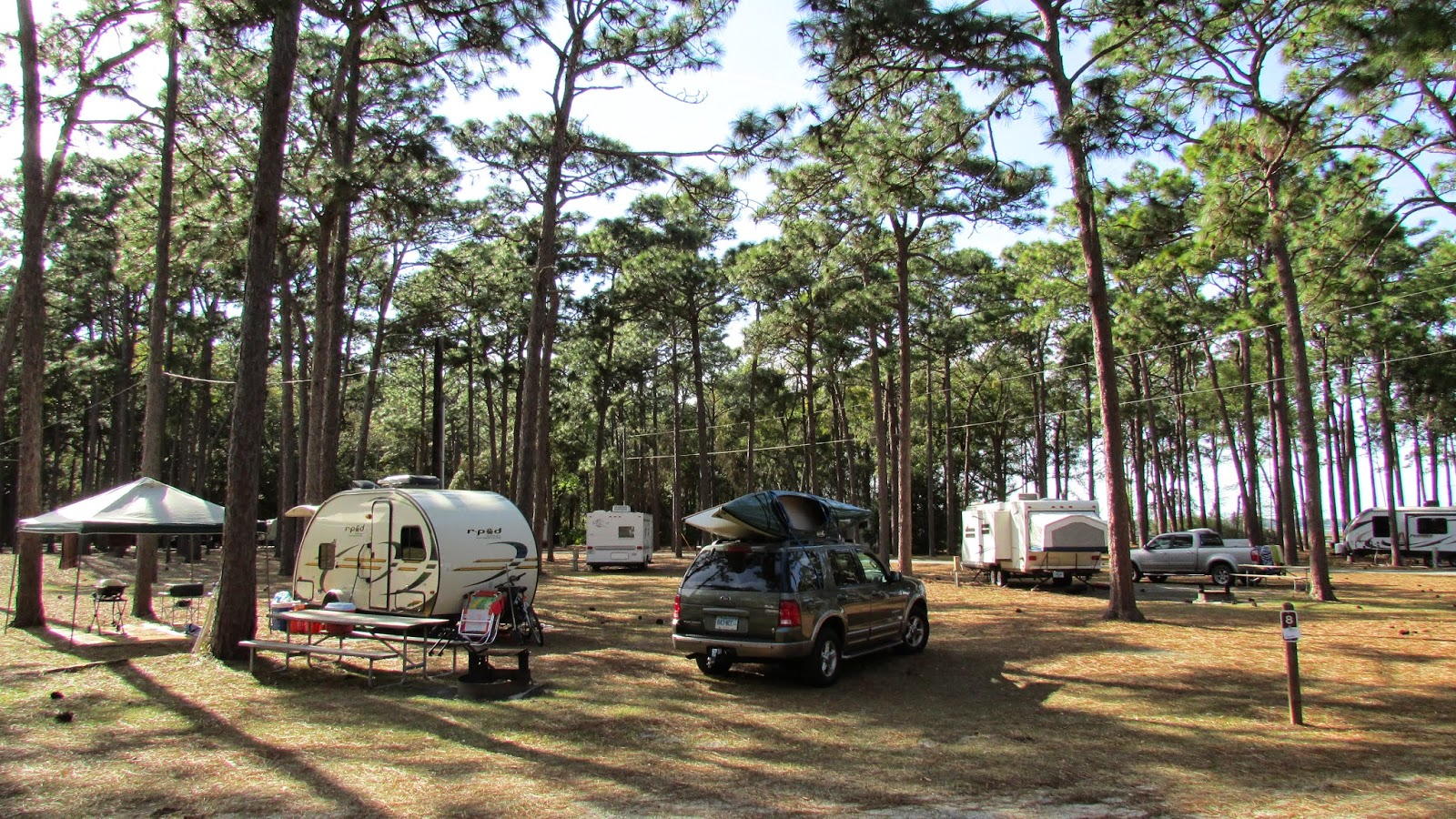 Gentil The Last Stop On Our Current Round Of Camping Is At Crooked River State Park  In St. Maryu0027s, GA. Although It Has Itu0027s Pretty Areas, The Campground Here  Is ...