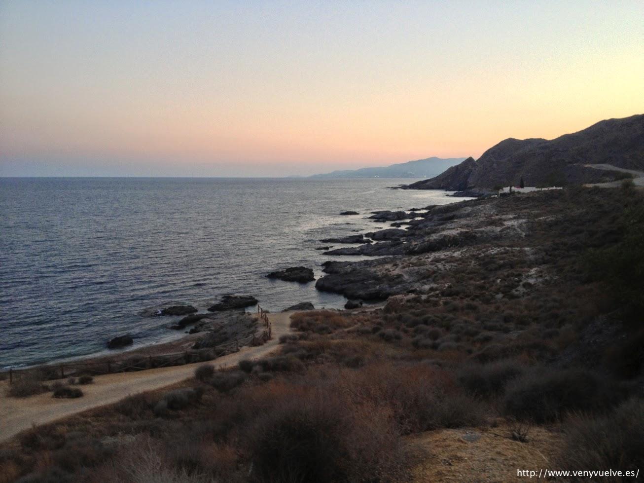 Playas de Garrucha en la costa de Almería