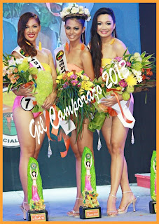 La Carlota Pasalamat Festival Queen 2013 and her court
