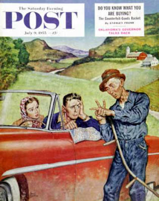 Saturday Evening Post, 9 July 1955