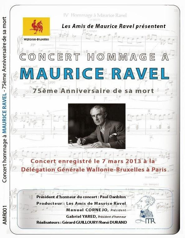 DVD du concert du 7 mars 2013