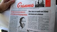 CUBAN NEWSPAPER THE GRANMA