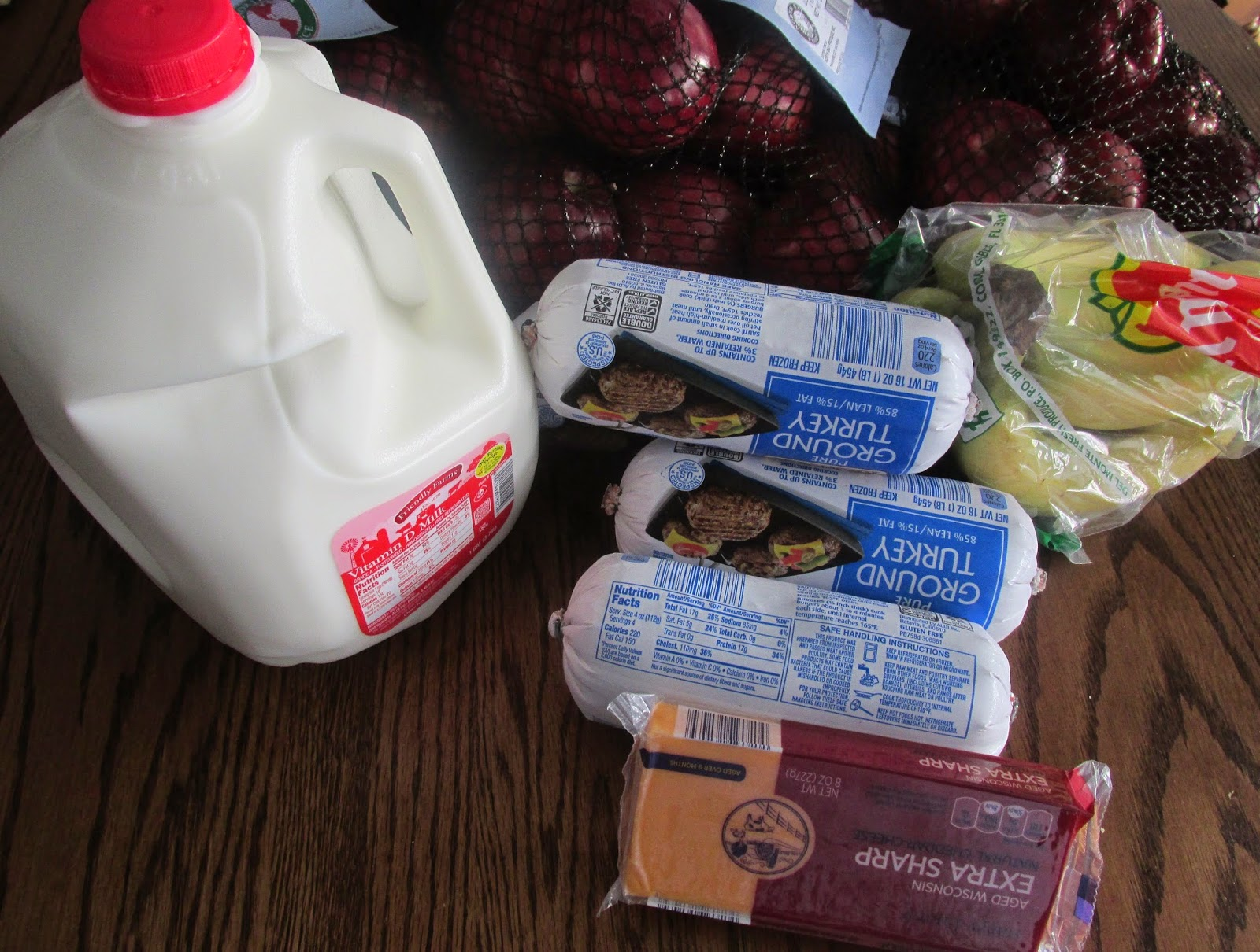 picture of groceries