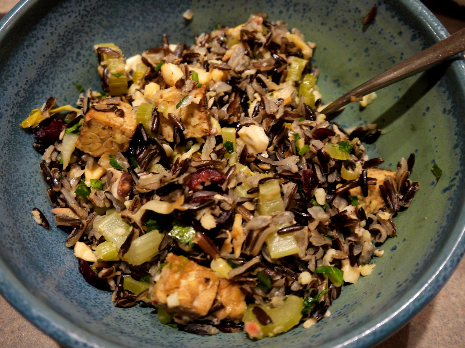 Foodture: Cooking for a Healthy Future: Wild Rice Stuffing