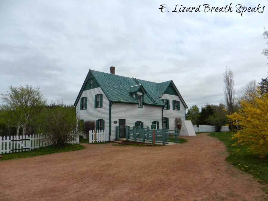 "L.M. Montgomery home ""Anne of Green Gables"", Canada"