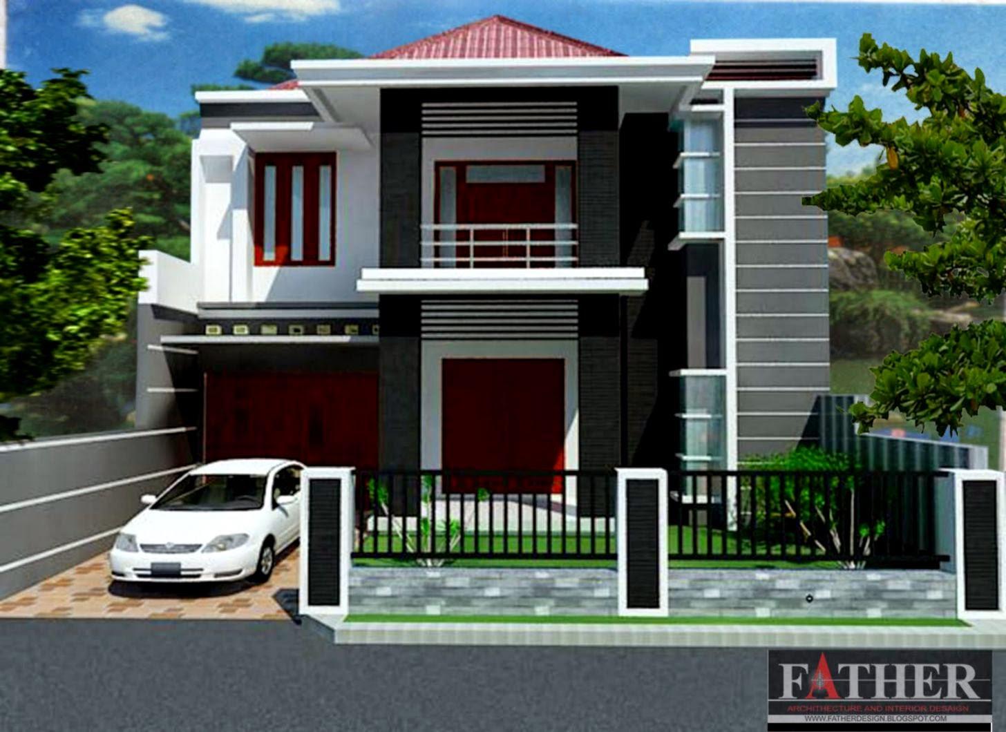 Kumpulan Gambar Rumah Minimalis 2 Lantai Design Rumah Minimalis
