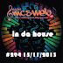 #294 in da house 15/11/2013