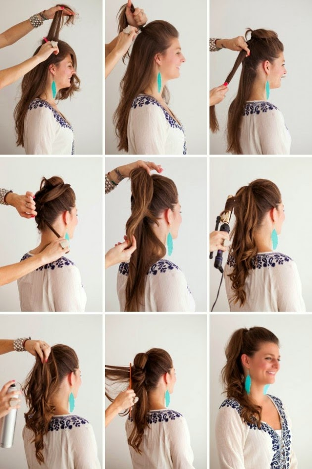 Fake Long Ponytail Hairstyle Step By Step Entertainment News