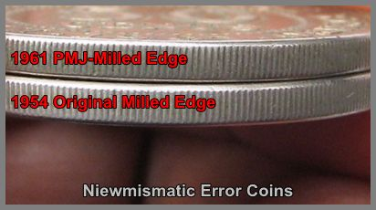 50 Cents Milled Edge Coin.