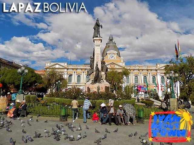 Palacio de Gobierno / Palacio Quemado in La Paz, Bolivia