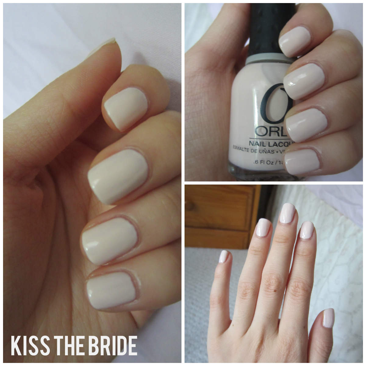 Nails Prevail: Orly Kiss the Bride