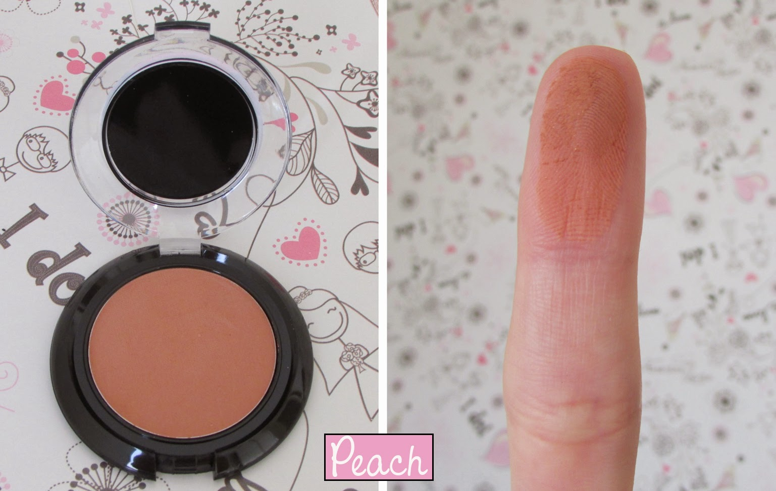 Nova, Coleção, Sombras, Uno, Peach, Archy Make Up