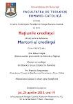 Bucuresti, 25/04/2013 -Dezbatere: Martori ai credintei - Monseniorul Ghika in drum spre beatificare