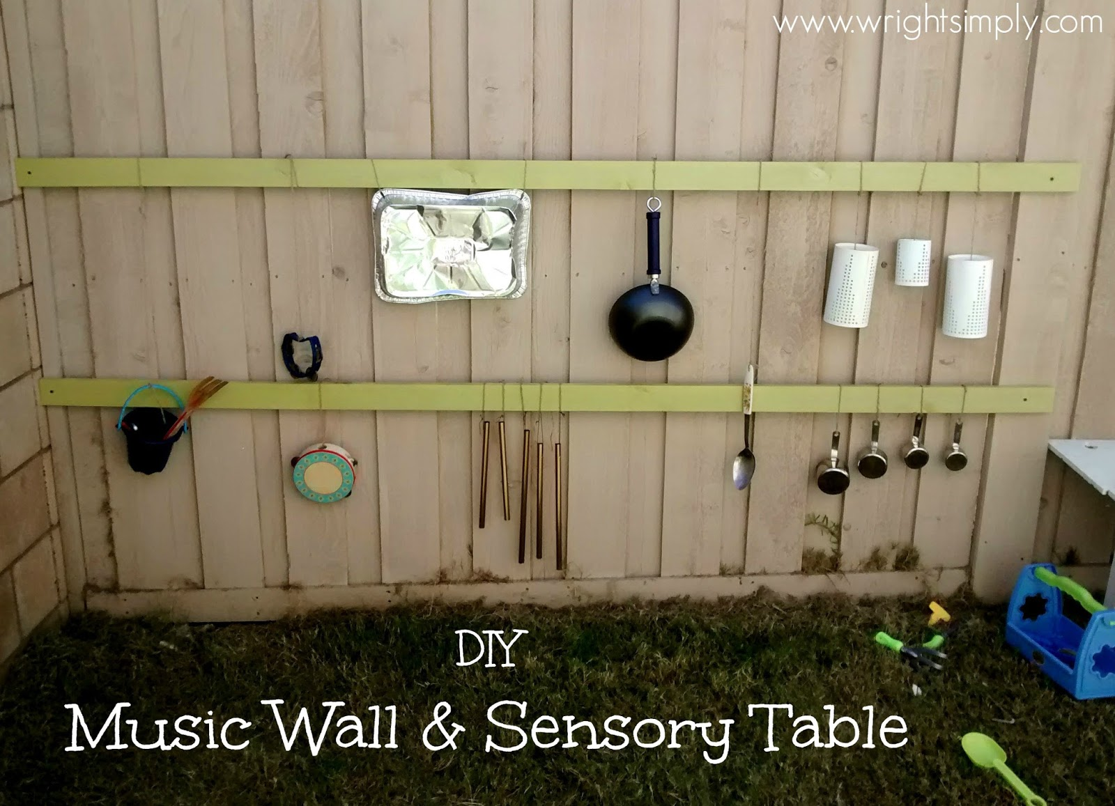 Simply Wright Diy Music Wall Amp Sensory Table