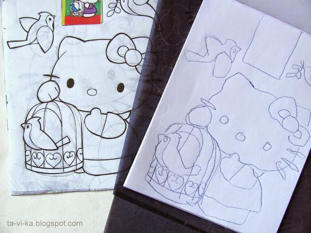 занятие для дошкольников  - готовим руку к письму