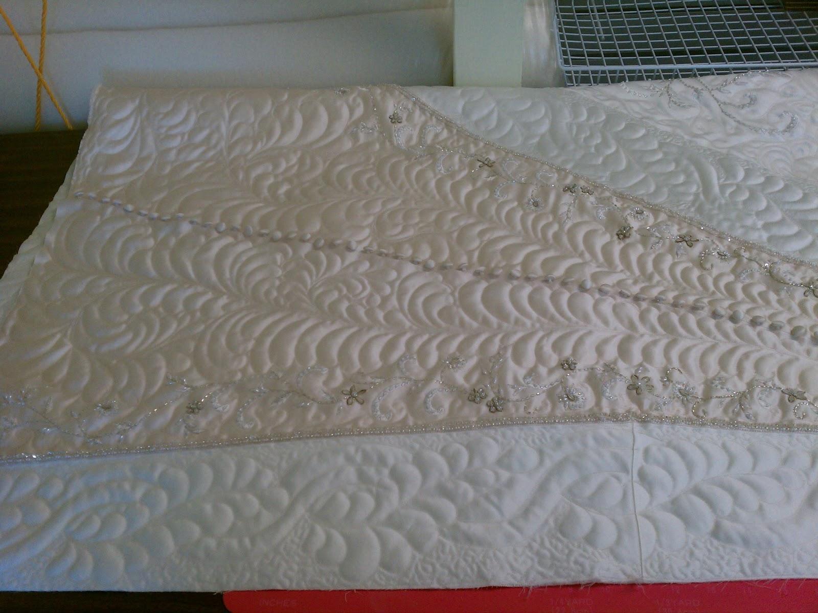 back porch quiltworks heirloom wedding dress quilt