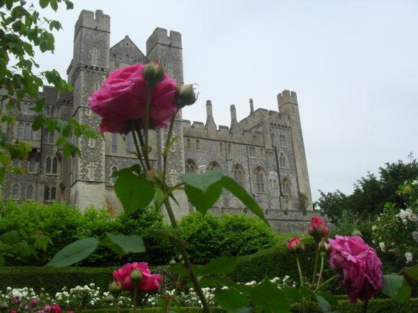 Lewes Castle English Garden