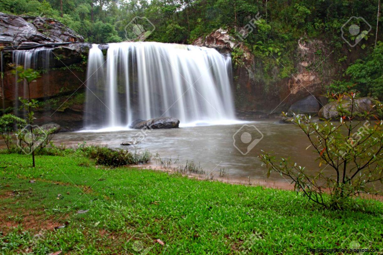 Rainforest Waterfall G1Q   Nature Desktop Backgrounds