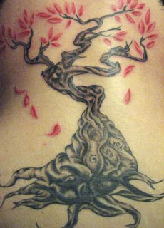 Tree Tattoos, Tattooing