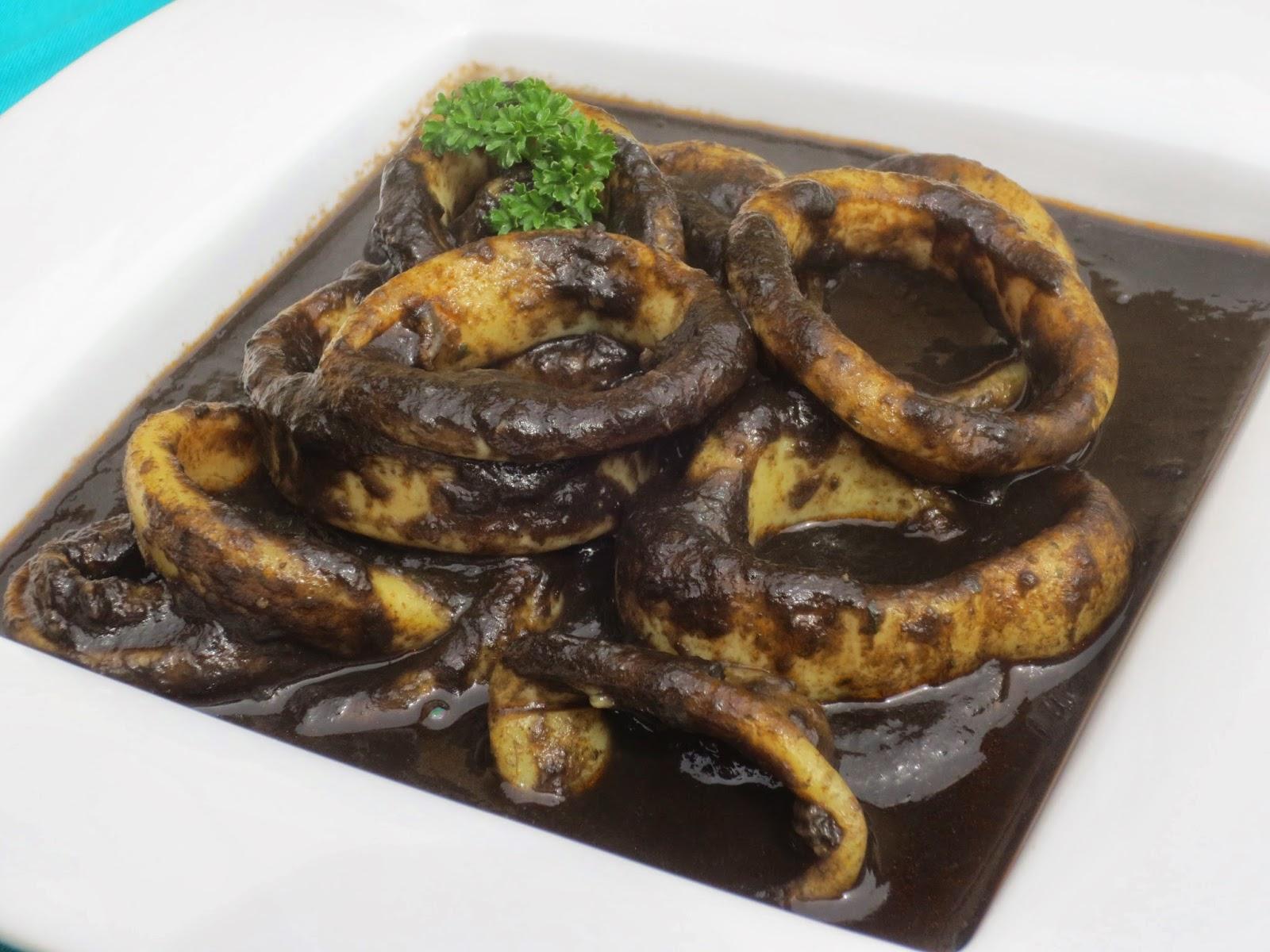 Calamares en su tinta Ana Sevilla Con Thermomix