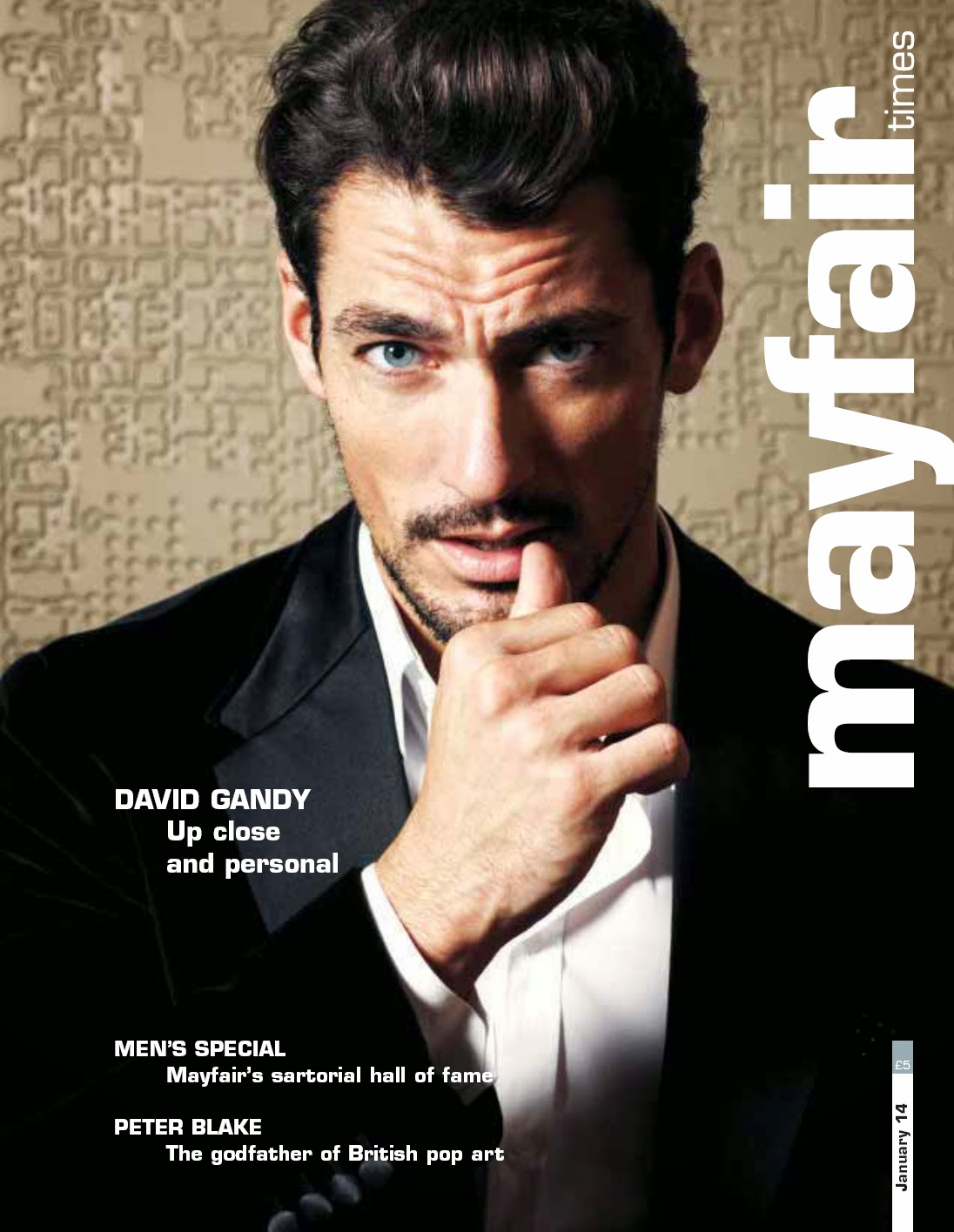 Girlfriend David Gandy 2014