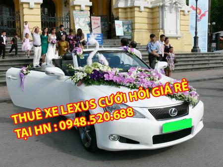 cho thuê xe lexus giá rẻ nhất
