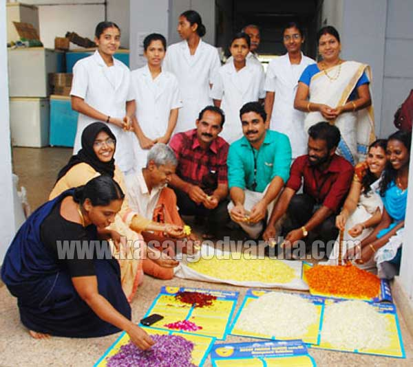 Vishwannathan Onam celebration at Hospital