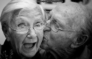 Lude slike, deda i baba