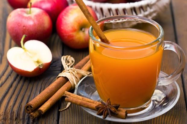 عصير التفاح, الكوليسترول, فوائد التفاح, ريجيم التفاح, التفاح, بالقرفة, القرفة, عصير التفاح الساخن, صحة, الطب البديل,