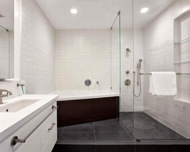 wide-black-white-bath-room-Net-Zero-Energy-Modern-House