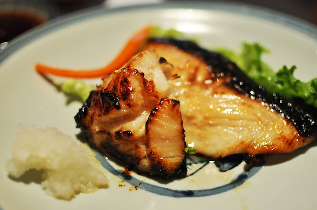 Miso-marinated Black Cod: I don't think anyone can mess cod up.