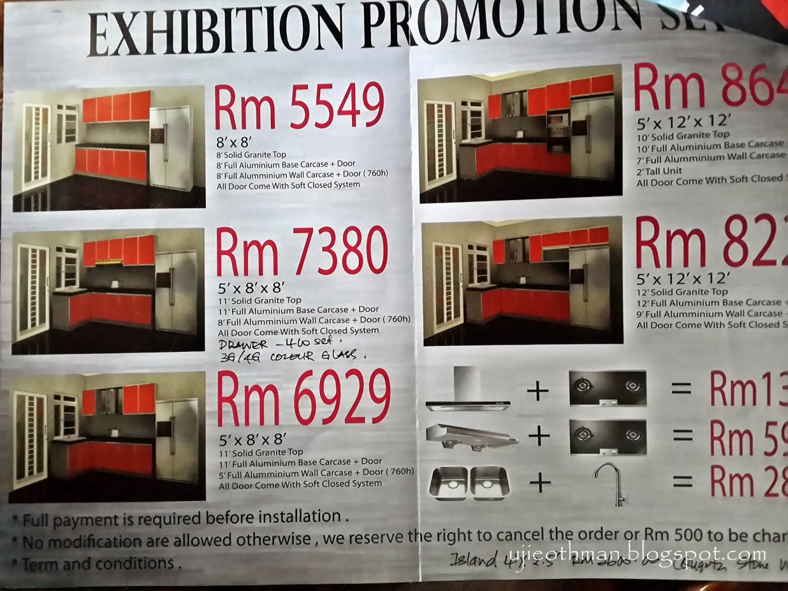 kabinet dapur aluminium 2016: Titian perjalanan kabinet dapur aluminium