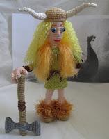 Viking knitted crochet