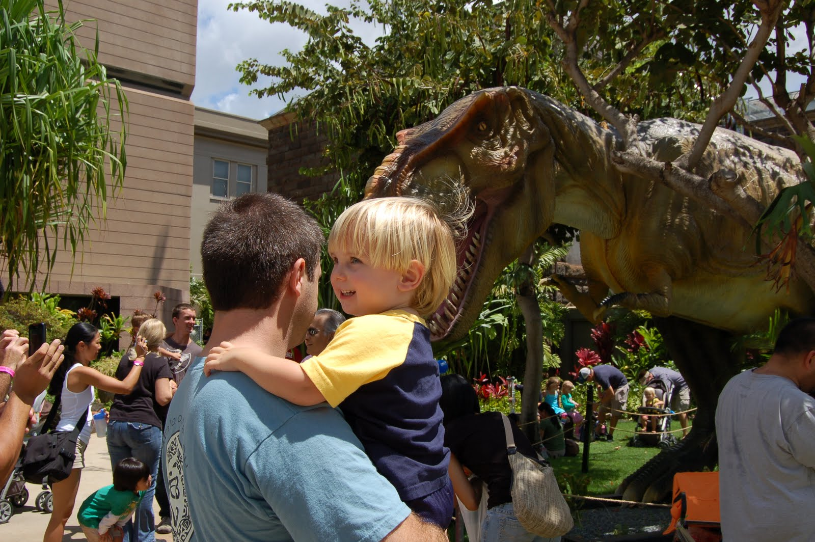 Can you tell he s not scared at all Dinosaurs In Real Life