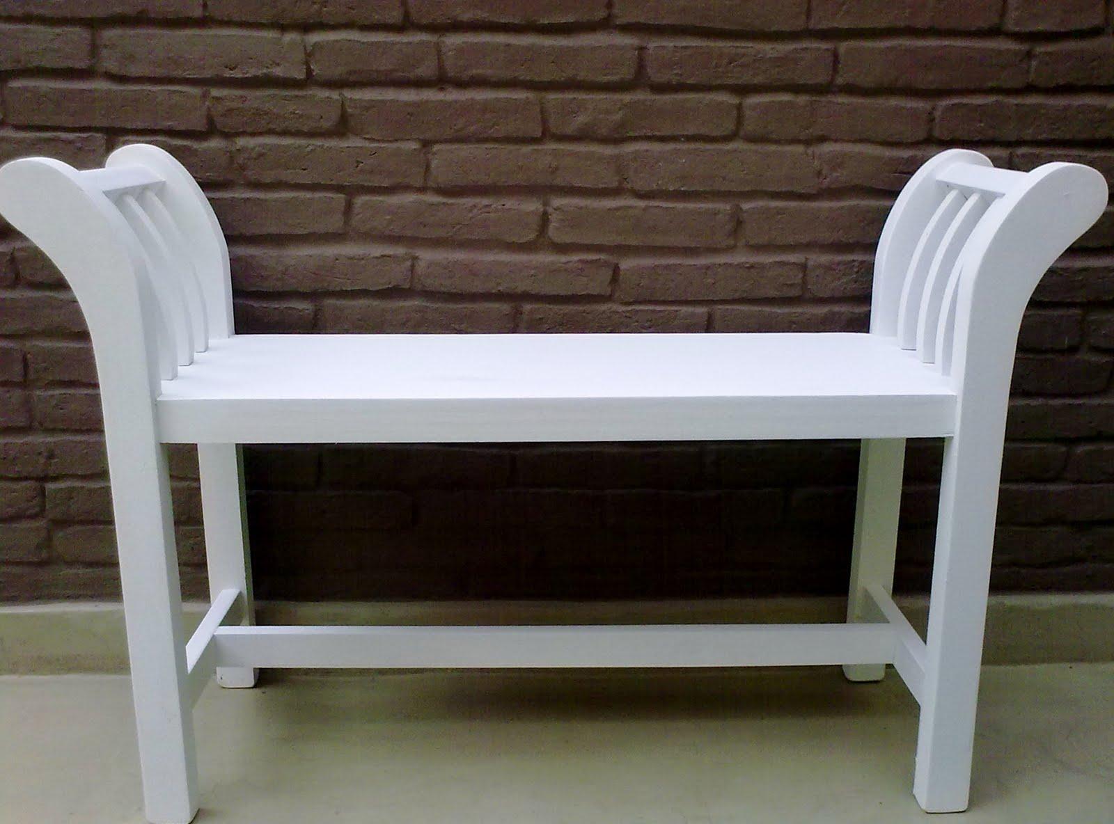 Banco banqueta taburete silla pie de cama 1 plaza 80 cm for Taburete pie de cama