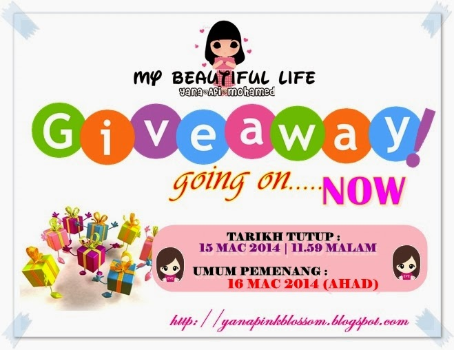 Giveaway 1 FanPage Publishing by yanapinkblossom blogspot