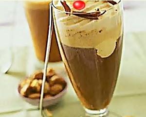 resep cake kopi tabur almond enak dan menggugah selera
