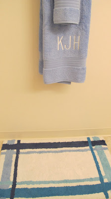 The Company Store monogrammed towels