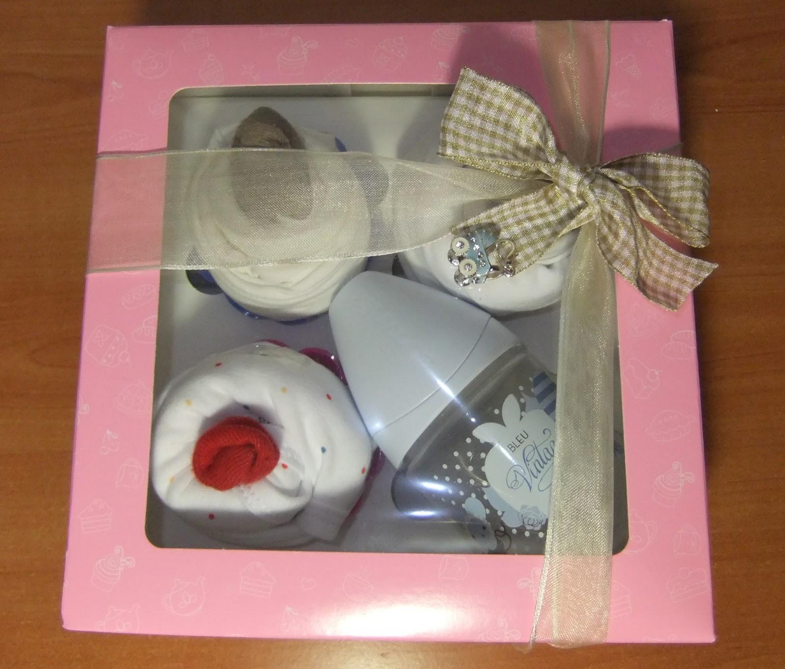 Regalo para los beb s de tu boda cupcake o ropa - Regalo bebe 3 meses ...