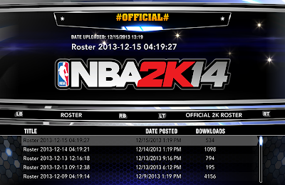 How to Update NBA 2K14 Rosters