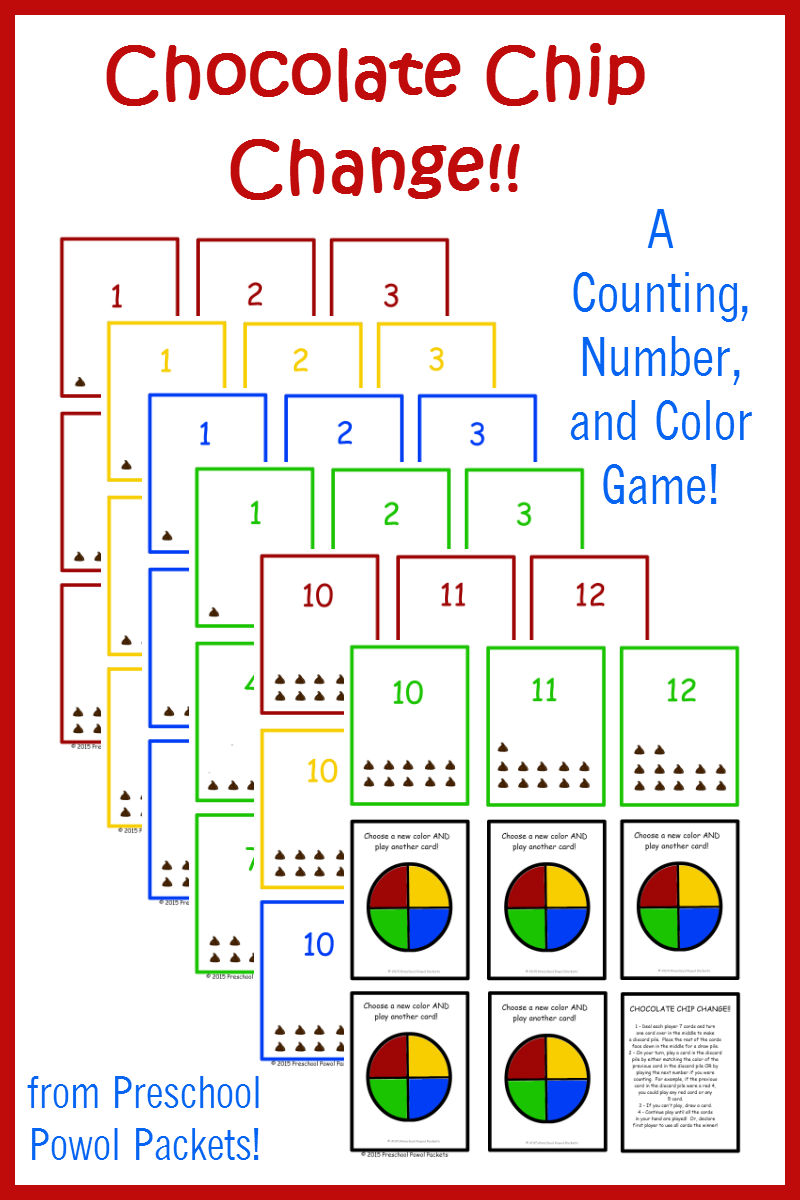 chocolate chip change a free counting numbers u0026 colors game