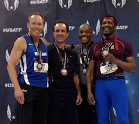 M55 WORLD RECORD 4x200m relay 1:37.88