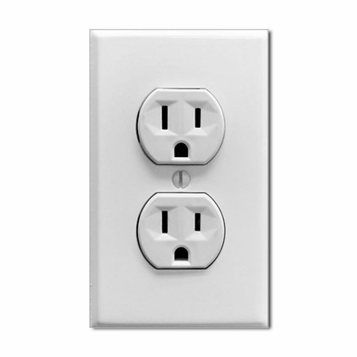 Fake Electric Outlet Sticker | Spicytec