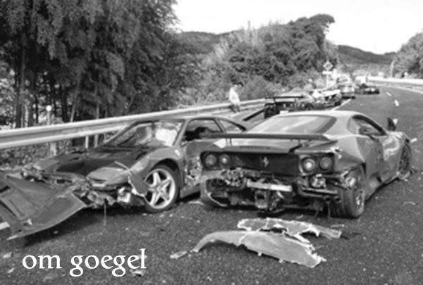 Ilustrasi: Kecelakaan Mobil