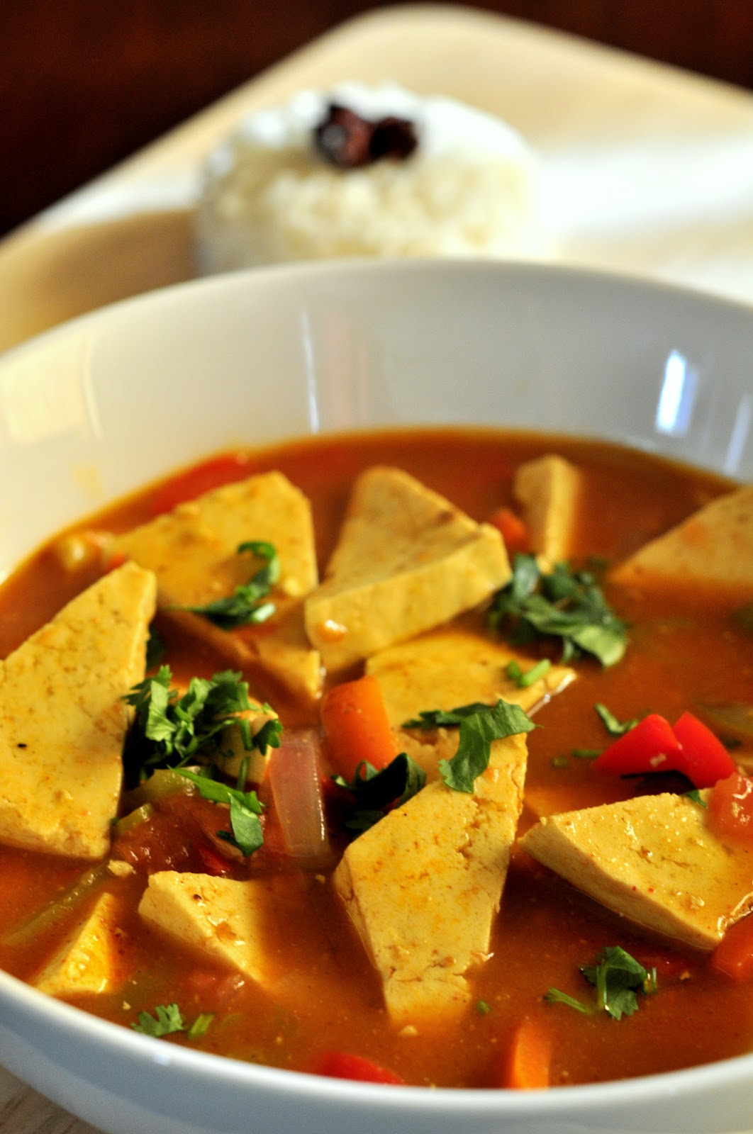 Spice Infused: Coconut Curry Tofu