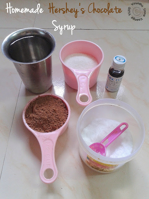 Ingredients-to-make-chocolate-syrup