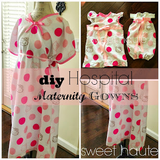 DIY Maternity Hospital Gown