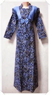 model gamis batik terbaru
