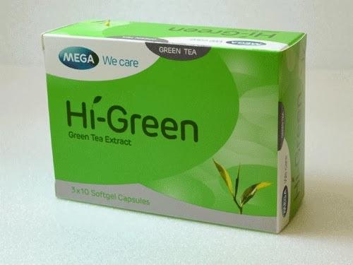 Hi-Green, Teh Pelangsing Alami